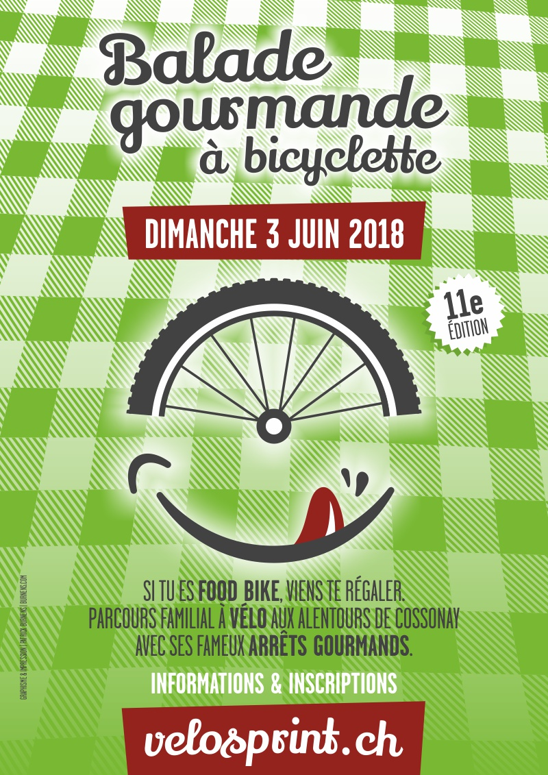 Balade gourmande à bicyclette, VéloSprint Cossonay